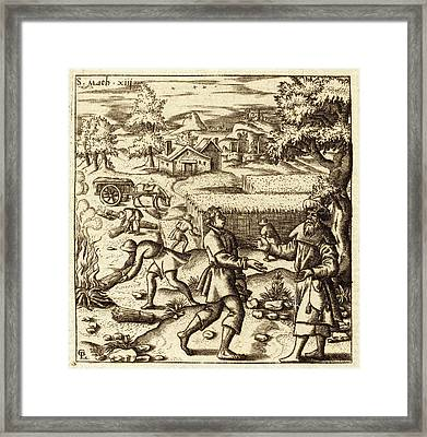 Léonard Gaultier, French 1561-1641, Parable Of Weeds Framed Print