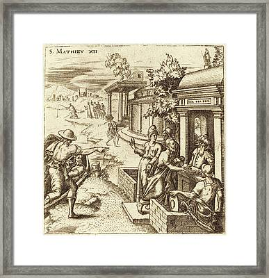Léonard Gaultier French, 1561 - 1641, The Man Healed Framed Print by Quint Lox
