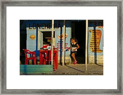 Loncheria Framed Print