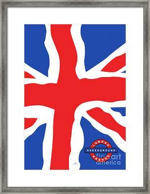 London - Underground Framed Print by ARTSHOT - Photographic Art