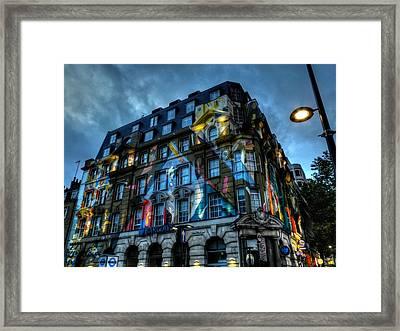 London 012 Framed Print by Lance Vaughn