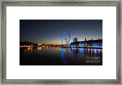 Framed Print featuring the photograph London 1 by Mariusz Czajkowski