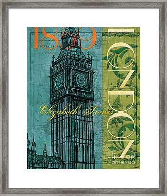 London 1859 Framed Print by Debbie DeWitt