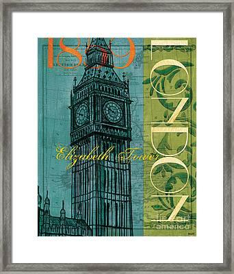 London 1859 Framed Print