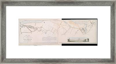 London And Greenwich Railway Framed Print by British Library