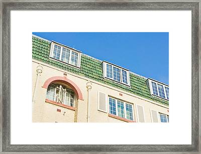 London Apartments Framed Print by Tom Gowanlock