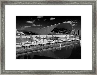 London Aquatics Centre Framed Print