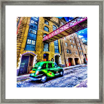 London Art Framed Print
