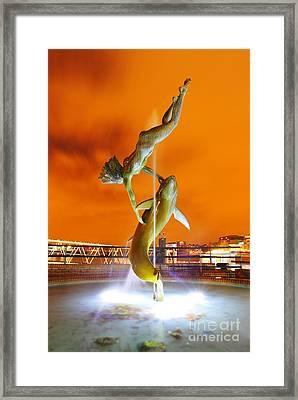 Framed Print featuring the photograph London Art by Mariusz Czajkowski