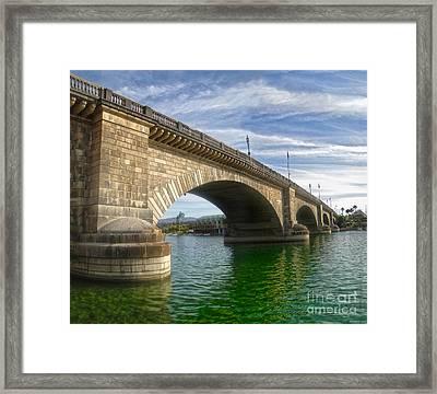 London Bridge Framed Print by Gregory Dyer