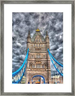 London Bridge - High Dynamic Range Framed Print