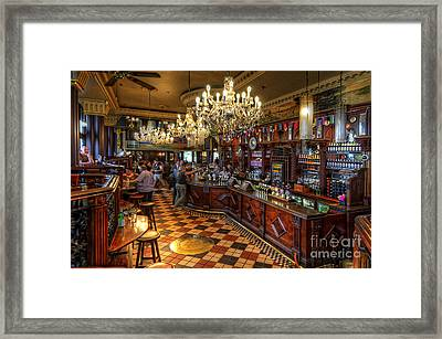 London Bridge Pub Framed Print
