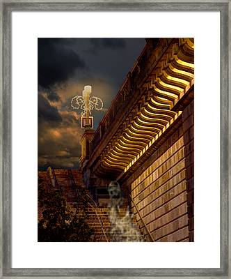 London Bridge Spirits Framed Print