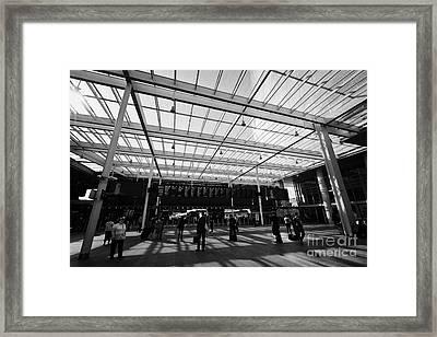 London Bridge Station Southwark England Uk Framed Print by Joe Fox