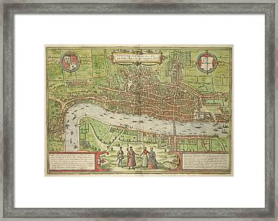 London Framed Print by British Library