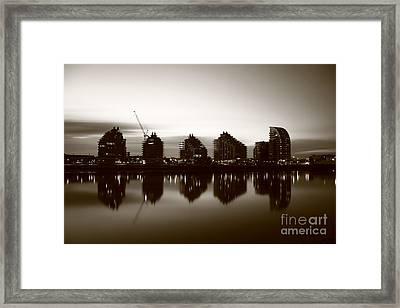 Framed Print featuring the photograph London Bw 1 by Mariusz Czajkowski