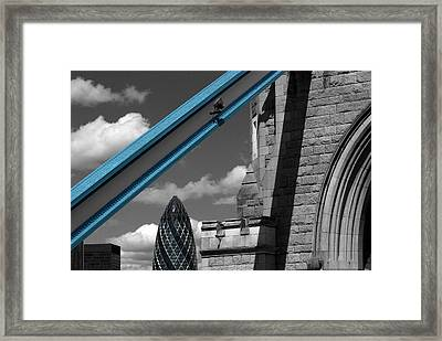 London City Frame Framed Print