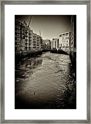London Conversions.  Framed Print by Lenny Carter
