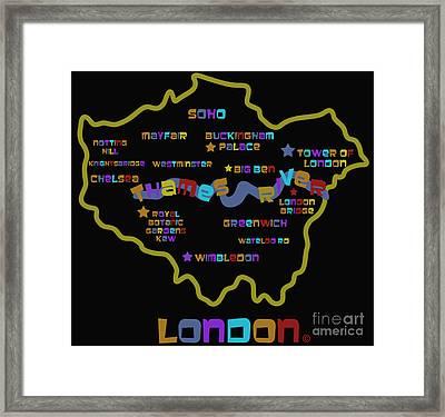 London Framed Print by Dan Hilsenrath