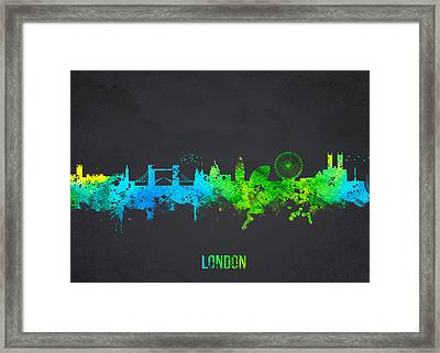 London England Framed Print by Aged Pixel