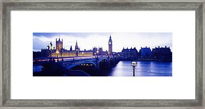 London, England, United Kingdom Framed Print