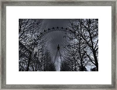 London Eye Framed Print by Martin Hristov