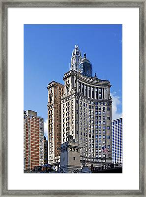 London Guarantee And Accident Building Chicago Framed Print