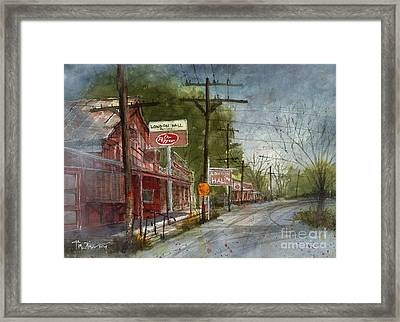 London Hall Framed Print by Tim Oliver