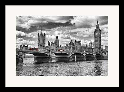 Palace Of Westminster Framed Prints