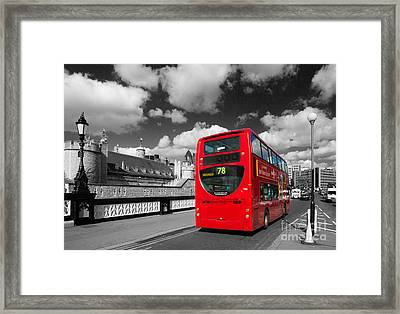 London Life Framed Print by Pete Reynolds