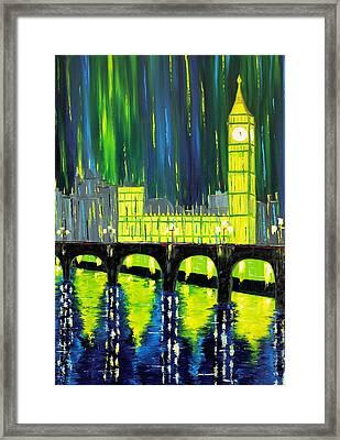 London Limelight Framed Print by Galina Zimmatore