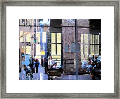 London Lounge Framed Print