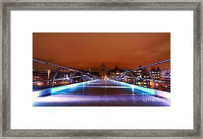 Framed Print featuring the photograph London  by Mariusz Czajkowski
