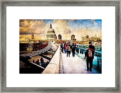 London Of My Dreams - St Paul's Framed Print by Mark E Tisdale