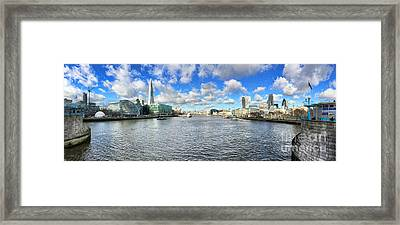 London Panorama Framed Print by Colin and Linda McKie