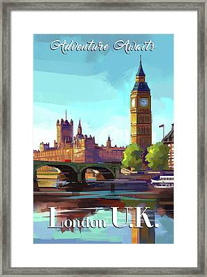 London Framed Print by P.s