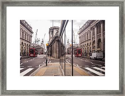 London Reflected Framed Print