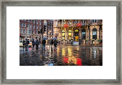 Reflections Of London Framed Print