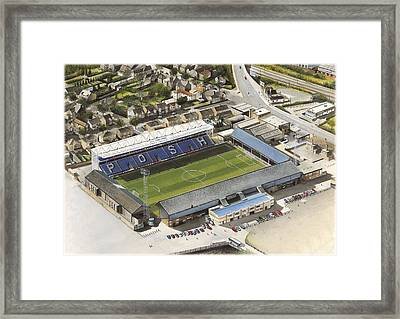 London Road - Peterborough United Framed Print