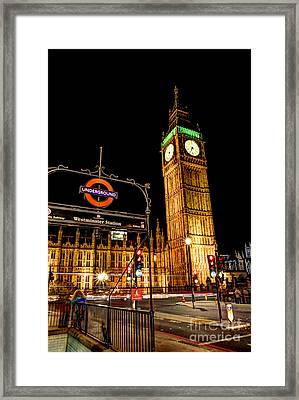 London Scene 2 Framed Print