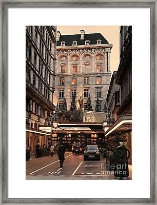 London Scene 3 Framed Print by Jasna Buncic