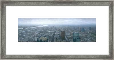 London Skyline Cityscape Framed Print