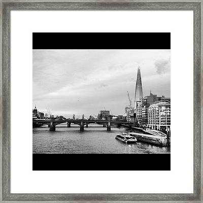 London Skyline Framed Print by Maeve O Connell