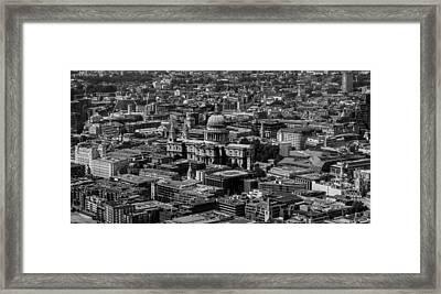 London Skyline Framed Print by Martin Newman