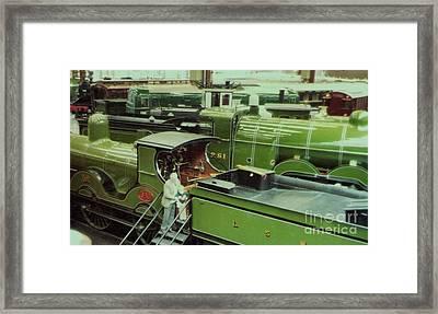 London Southwestern Locomotive Framed Print by Susan Williams