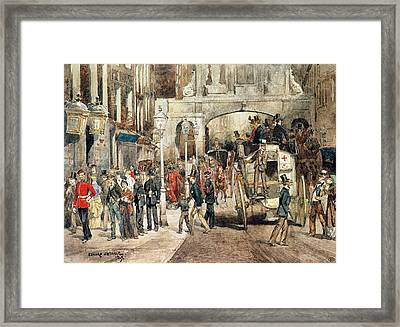 London Street, 1869  Framed Print