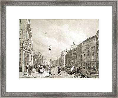 London Street Framed Print by British Library