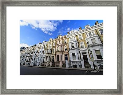 London Street Framed Print by Mariusz Czajkowski