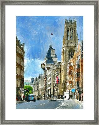 London Sunday View Framed Print