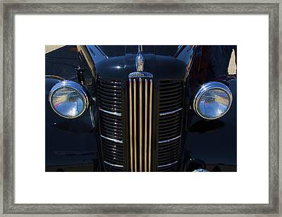 London Taxi Austin Fx3 1950's Era Framed Print